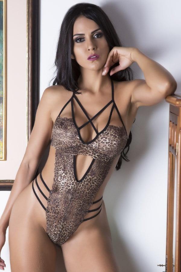 Fantasia erótica Body Tigresa - Garota Veneno