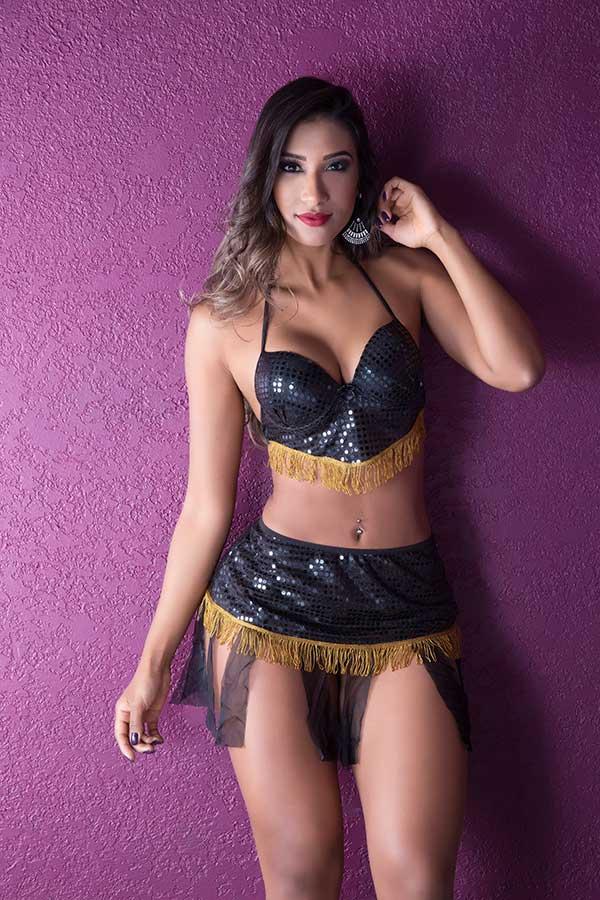 Fantasia Odalisca Sexy - Garota Veneno