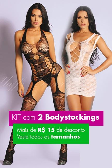 KIT 2 Bodystockings