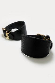 Algema / Bracelete Dianna em couro Python - Secret Play