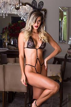 Fantasia erótica body coelhinha sensual - Garota Veneno