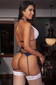 Fantasia erótica Body Marinheira + Meia 7/8 - Garota Veneno