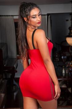 "Fantasia erótica - Vestido ""Bombeira"" - Garota Veneno"