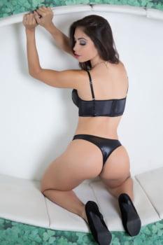 Cropped Sexy em cirre e renda