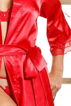 "Robe ""Rouge Intense"" vermelho"